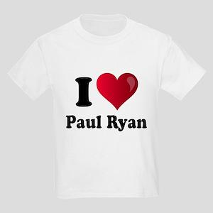 I Heart Paul Ryan Kids Light T-Shirt