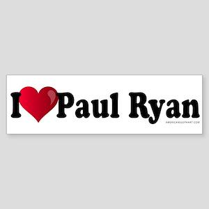 I Heart Paul Ryan Sticker (Bumper)