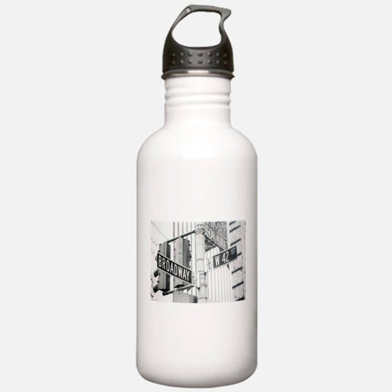 NY Broadway Times Square - Water Bottle
