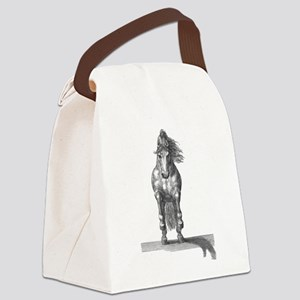 Charging horse Canvas Lunch Bag