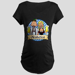 Oktoberfest Maternity Dark T-Shirt