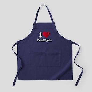 I Heart Paul Ryan Apron (dark)