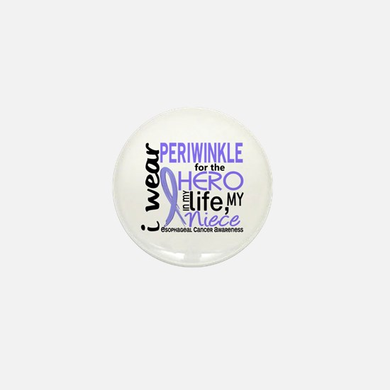 Hero In Life 2 Esophageal Cancer Mini Button