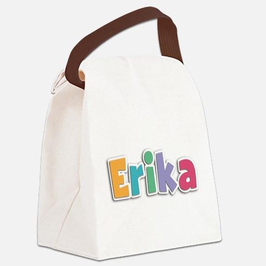 Erika Canvas Lunch Bag