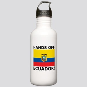 Hands off Ecuador! Stainless Water Bottle 1.0L