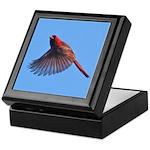 Flying Cardinal Keepsake Box