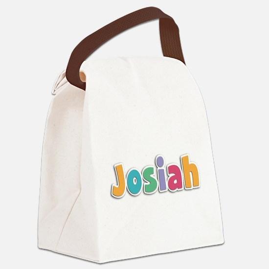 Josiah Canvas Lunch Bag