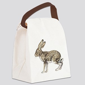 Jack Rabbit Canvas Lunch Bag
