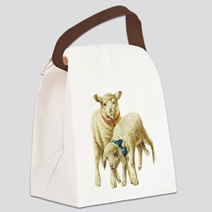 lambs Canvas Lunch Bag