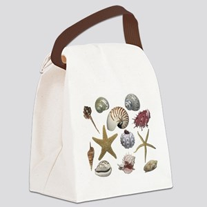 shells Canvas Lunch Bag