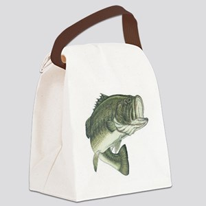 large mouth bass Canvas Lunch Bag