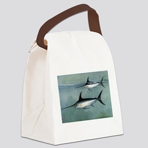 Swordfish Canvas Lunch Bag