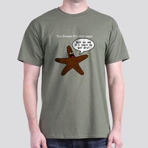 Brown Starfish Dark T-Shirt