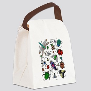 bugs Canvas Lunch Bag