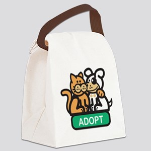 adopt animals Canvas Lunch Bag