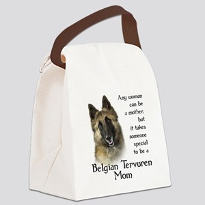 Belgian Tervuren Mom Canvas Lunch Bag