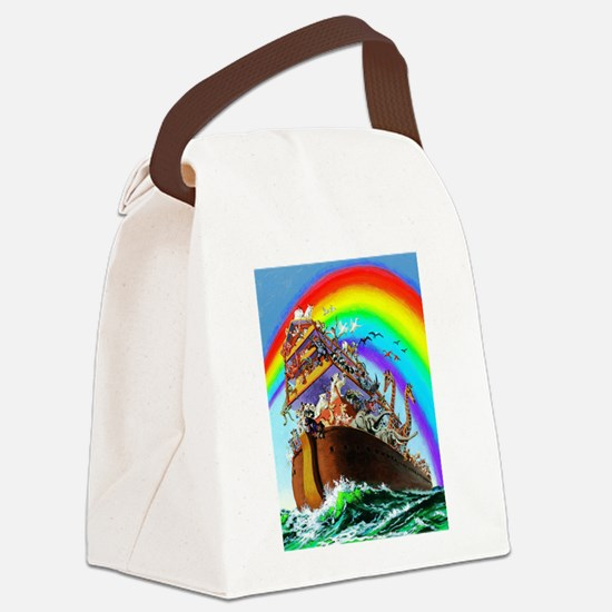 Noah's Ark drawing Canvas Lunch Bag