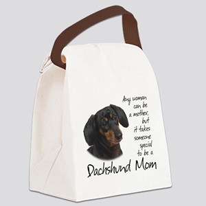 Dachshund Mom Canvas Lunch Bag