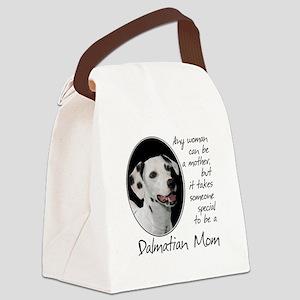 Dalmatian Mom Canvas Lunch Bag
