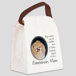 Pom Mom Canvas Lunch Bag