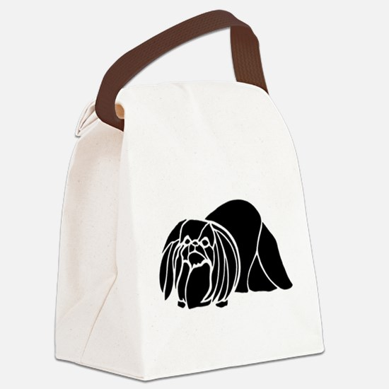 Pekingese Canvas Lunch Bag