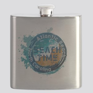 North Carolina - Atlantic Beach Flask