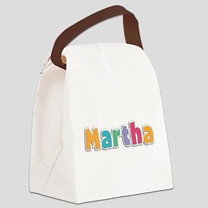 Martha Canvas Lunch Bag