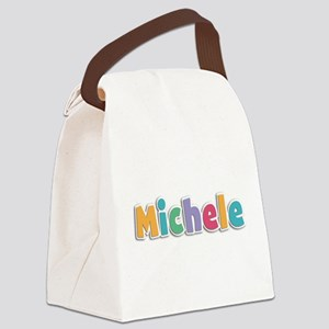 Michele Canvas Lunch Bag