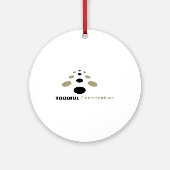 FE Logo Ornament (Round)
