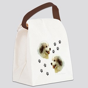 Puppy Paws Canvas Lunch Bag