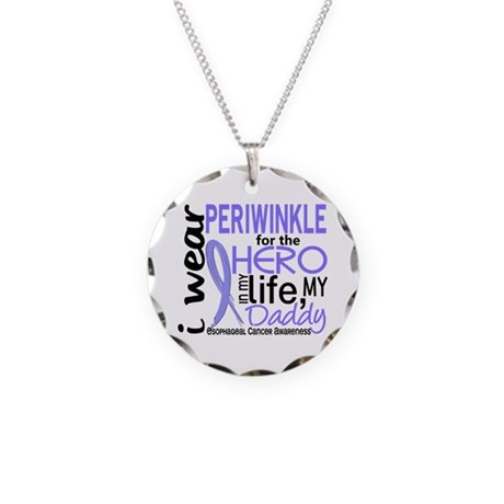 Hero In Life 2 Esophageal Cancer Necklace Circle C