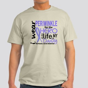 Hero In Life 2 Esophageal Cancer Light T-Shirt