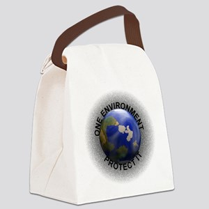 Earth Day Canvas Lunch Bag