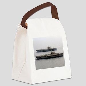 Kitty Hawk & Constellation Canvas Lunch Bag
