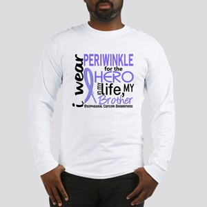 Hero In Life 2 Esophageal Cancer Long Sleeve T-Shi
