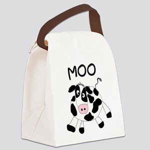 Moo Cow Canvas Lunch Bag