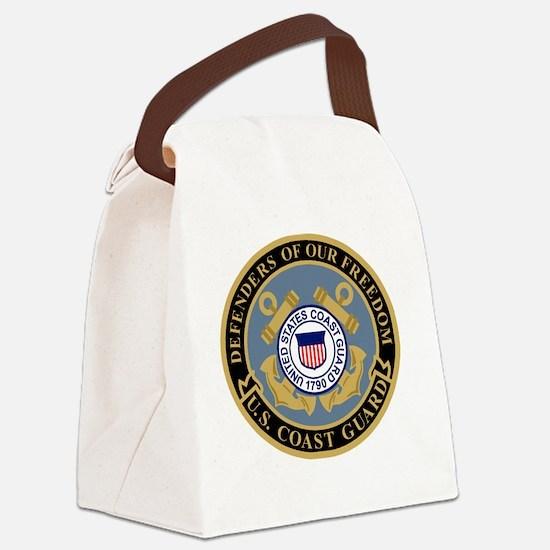 Coast Guard<BR> Canvas Lunch Bag 8