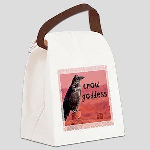 Crow Goddess Canvas Lunch Bag