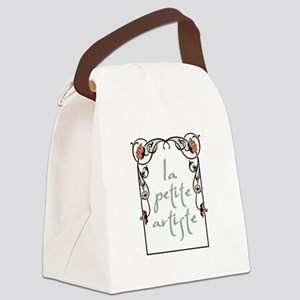 """La Petite Artiste"" Canvas Lunch Bag"