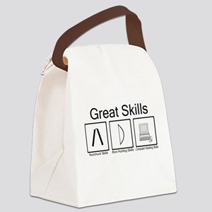 Great Skills Canvas Lunch Bag
