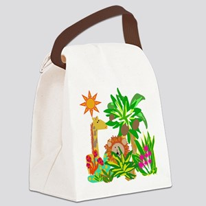 Safari Canvas Lunch Bag