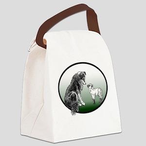 club logo Canvas Lunch Bag