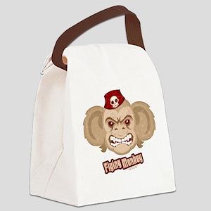 Flying Monkey of OZ Canvas Lunch Bag