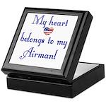 Heart Belongs 2 Keepsake Box (AF)