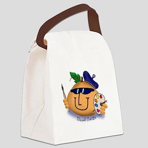 Gourd Art Canvas Lunch Bag