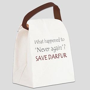 Save Darfur Canvas Lunch Bag