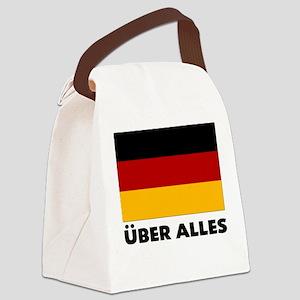 Deutschland, Deutschland Über Canvas Lunch Bag