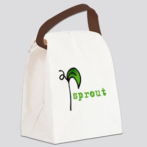 Sprout Canvas Lunch Bag