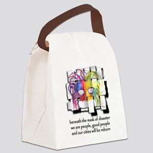 Hurricane Katrina #2 Canvas Lunch Bag