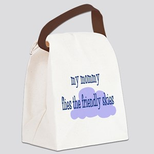 My Mommy (blue) Canvas Lunch Bag